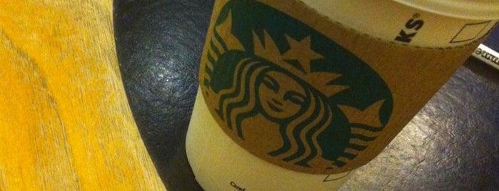 Starbucks is one of Orte, die Pradeep gefallen.