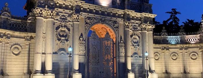 Dolmabahçe Sarayı Bahçesi is one of สถานที่ที่ Nermin Ataçoğlu ถูกใจ.