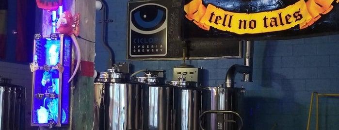 Ciclops Cyderi and Brewery is one of Orte, die Russell gefallen.
