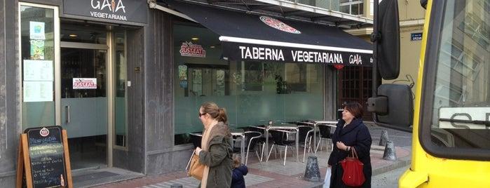 Gaia Taberna Vegetariana is one of Lugares guardados de David.
