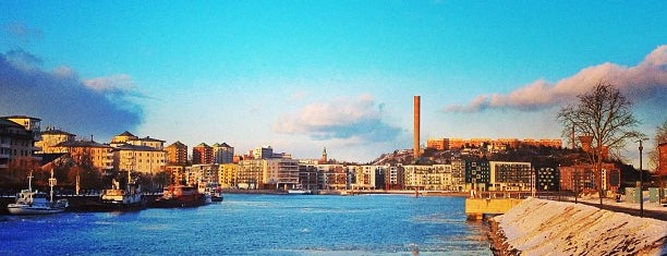 Hammarbyhamnen is one of Scandinavia To Visit.