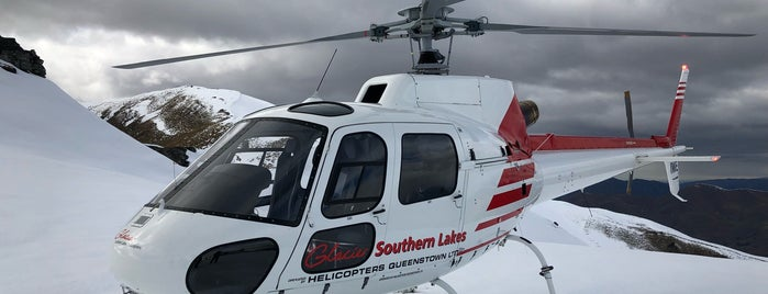 Glacier Southern Lakes Helicopters is one of NZ.