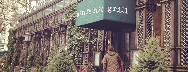 Bryant Park Grill is one of Manhattan Favorites.