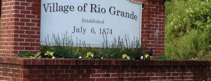 Rio Grande, OH is one of Lugares favoritos de Cralie.