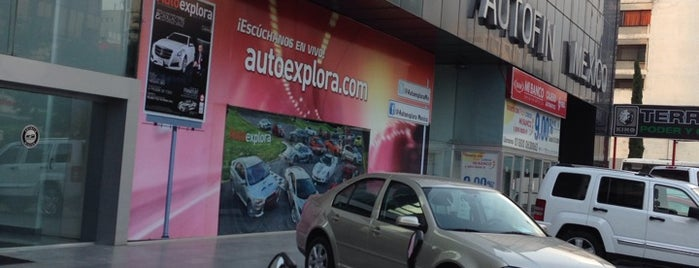 Grupo Autofin México is one of INSURGENTES.