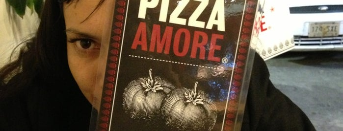 Pizza Amore is one of Mexico City Eats.