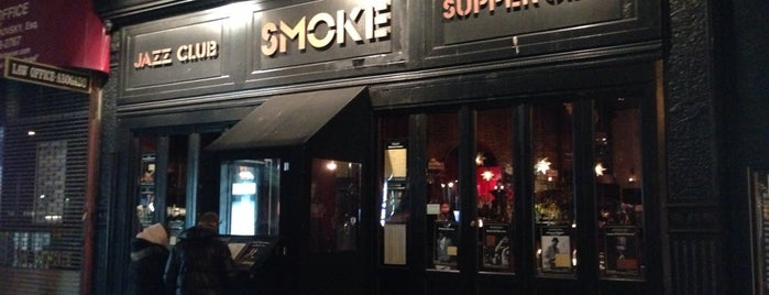 Smoke Jazz & Supper Club is one of Best Jazz Clubs in NYC.