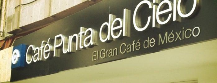 Café Punta Del Cielo is one of Locais curtidos por Gabyks.