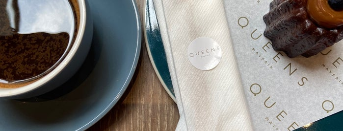 Queens of Mayfair is one of LDN - Brunch/coffee/ breakfast.