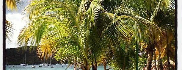 Grande Anse d'Arlet is one of Martinique & Guadeloupe.