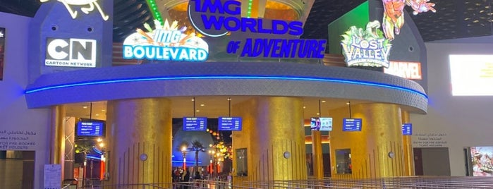 IMG Worlds of Adventure is one of DUBAI - Parks And Attractions.