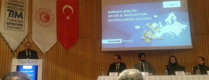TİM / Türkiye İhracatçılar Meclisi is one of Elifさんのお気に入りスポット.