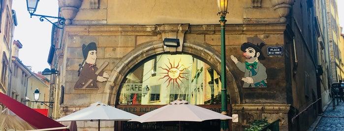 Café Restaurant du Soleil is one of Lyon.