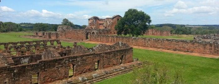 Ruinas Jesuíticas de Santísima Trinidad is one of UNESCO World Heritage Sites in South America.