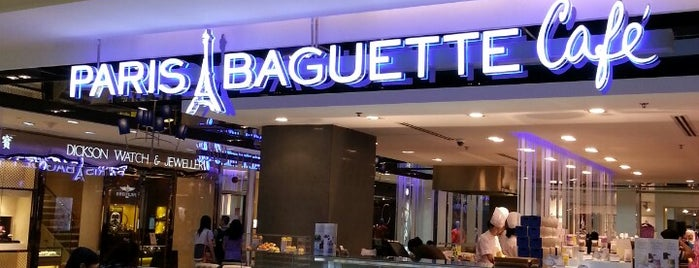 Paris Baguette Café is one of Desserts/Pastries/Cafes.