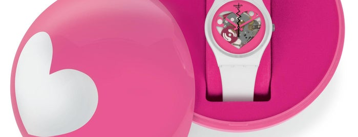 Swatch is one of Locais salvos de Marcela.