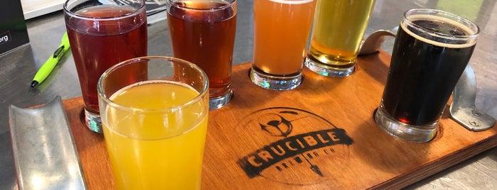 Crucible Brewing is one of Lieux sauvegardés par Brent.