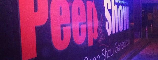 Peep Show I Burggasse is one of Ö-Untiefen nach Jelinek.