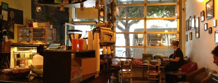 Cafe La Vie is one of SF Coffee + Cafes.