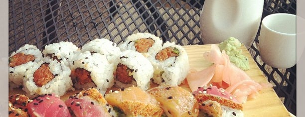 Blufin Sushi is one of Locais curtidos por Carrie.