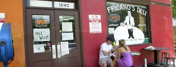 Fricano's Deli & Catering is one of 2013 Austin Chronicle First Plates Awards.