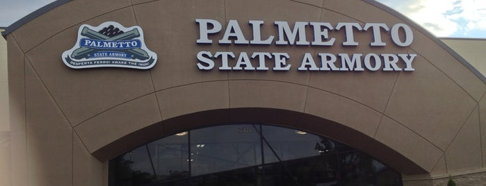 Palmetto State Armory- Greenville is one of Tempat yang Disukai Janet.