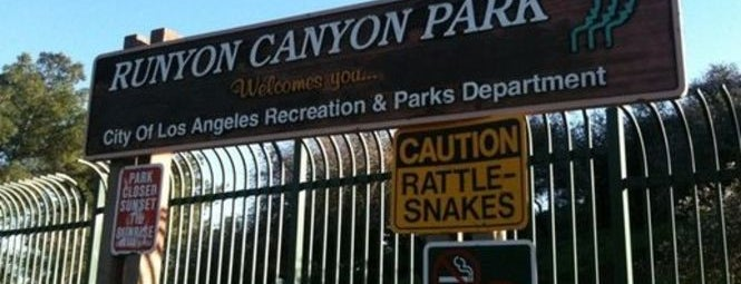 Runyon Canyon Park is one of Andrea's Saved Places.