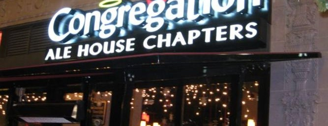 Congregation Ale House is one of The LA Weekly Happy Hour Guide!.
