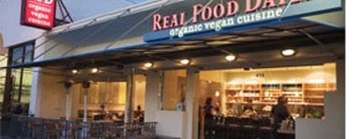 Real Food Daily is one of Places w/ nice vegetarian food.