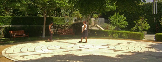 Peace Awareness Labyrinth & Gardens is one of so cal.