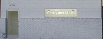 Cherry & Martin is one of Awesome Art Galleries!.
