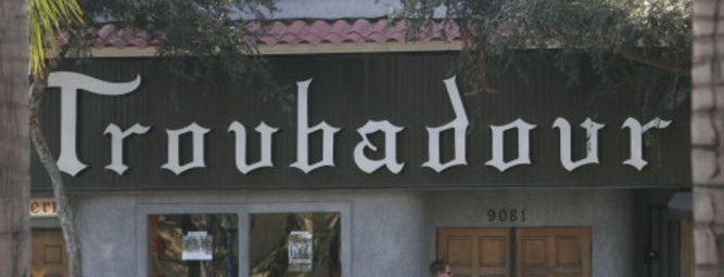 The Troubadour is one of LA things.