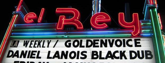 El Rey Theatre is one of Favorites in LA.