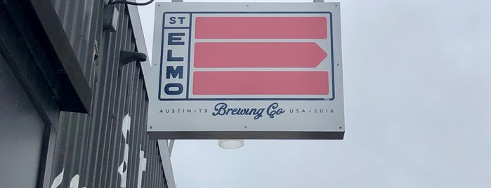 St. Elmo Brewing Company is one of ATX.