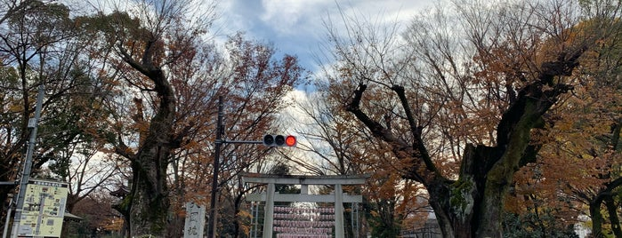 大国魂神社宝物殿 is one of 神社.