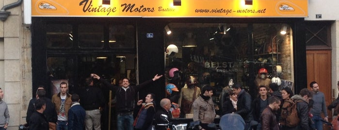 Vintage motors is one of Boutiques où claquer son fric.