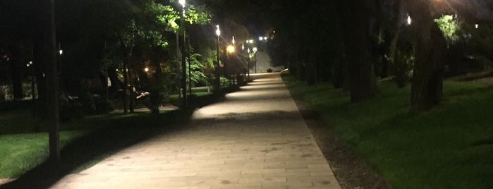 Парк «Греческий» / («Лунный сквер») is one of Odesa.