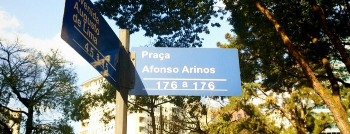Praça Afonso Arinos is one of Belo Horizonte / MG.