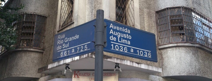Avenida Augusto de Lima is one of Belo Horizonte / MG.