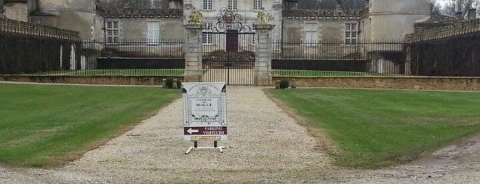 Château de Malle is one of สถานที่ที่บันทึกไว้ของ Jean-Marc.