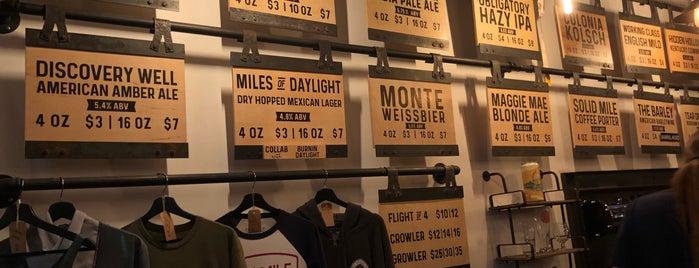 Ten Mile Brewing is one of Maki'nin Beğendiği Mekanlar.