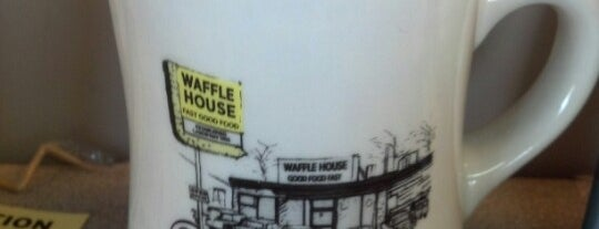 Waffle House is one of Frederick County favorites.