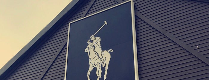 Polo Ralph Lauren Factory Store is one of Phat's Liked Places.