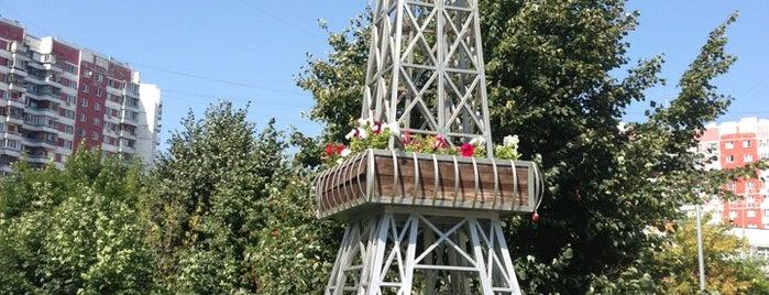 Эйфелева башня is one of Locais salvos de Ksu.