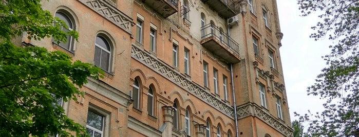 Доходный дом М. Лапинского is one of Kiev.