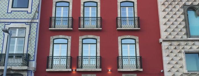 Hotel Riverside Alfama is one of Mariana : понравившиеся места.