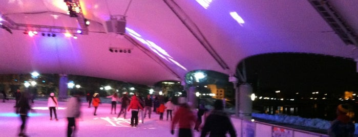 Riverscape Ice Rink is one of Gem City.