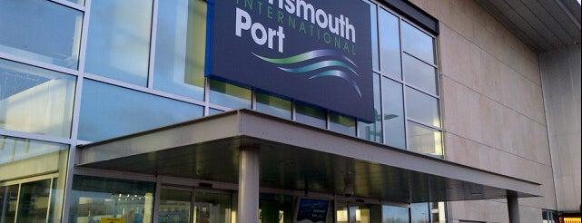 Portsmouth International Port is one of Anthony'un Kaydettiği Mekanlar.