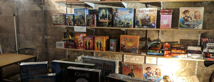 Board Game Café is one of To Do List.