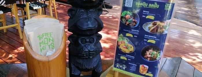 Three Monkeys Restaurant is one of Thailand.
